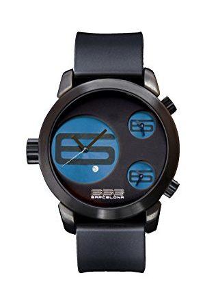 666Barcelona Męski analogowy zegarek kwarcowy z gumową bransoletką 66-343