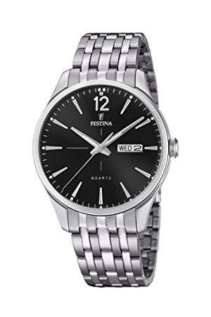 Festina F20204/4 męski analogowy zegarek kwarcowy z bransoletką ze stali nierdzewnej