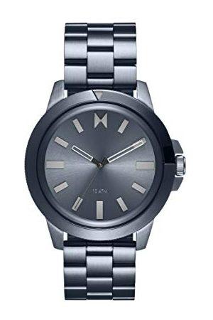 MVMT Męski analogowy zegarek kwarcowy z bransoletką ze stali szlachetnej 2800076-D