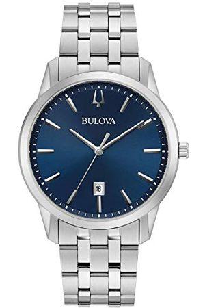 BULOVA Męski analogowy zegarek kwarcowy z paskiem ze stali nierdzewnej 96B338
