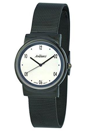 ARABIANS Męski analogowy zegarek kwarcowy z bransoletką ze stali szlachetnej HNA2235W