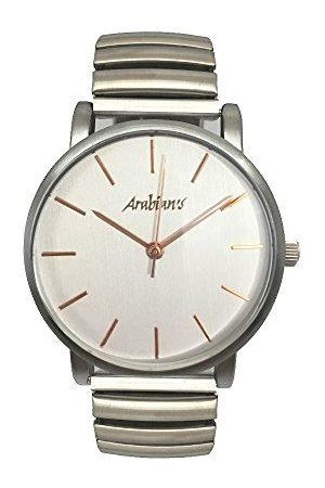 Arabians Męski analogowy zegarek kwarcowy z bransoletką ze stali szlachetnej DBA2272P