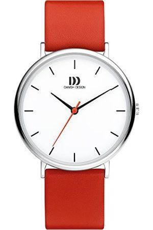 Danish Design Męski analogowy zegarek kwarcowy ze skórzanym paskiem IQ24Q1190