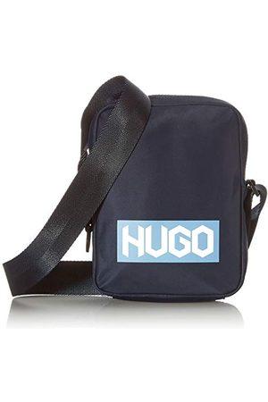 HUGO BOSS Męski Record JL_NS Zip Crossbody Bag, Navy410, ONESI