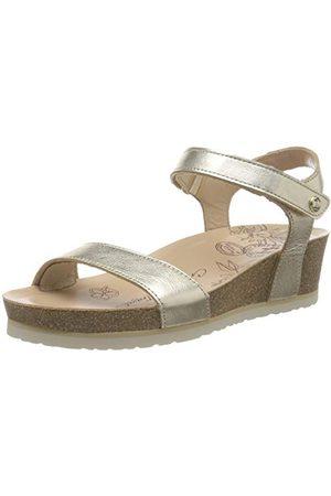Panama Jack Damskie sandały Capri Shine z paskiem, złoto - Gold Oro B3-37 eu
