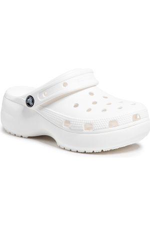 Crocs Kobieta Sandały - Klapki - Classic Platform Clog W 206750 White