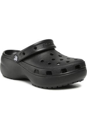Crocs Klapki - Classic Platform Clog 206750 Black