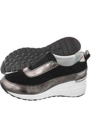 VENEZIA Sneakersy Czarne 4024 701 Black (VE514-a)