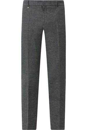 Antony Morato Mężczyzna Spodnie eleganckie - Spodnie do garnituru o kroju slim fit z mieszanki bawełny i lnu model 'Arthur'