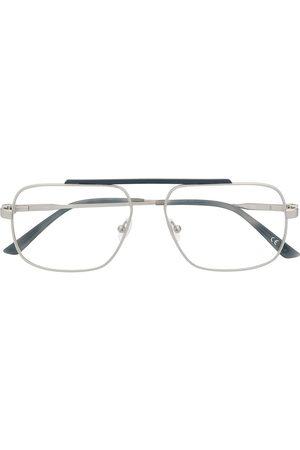 Calvin Klein Mężczyzna Okulary przeciwsłoneczne - Silver