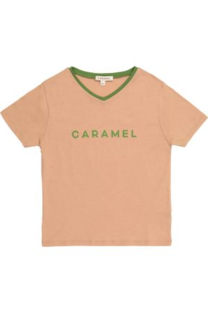 Caramel Shark cotton T-shirt