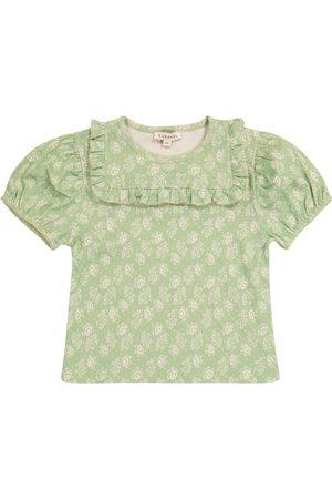 Caramel Dziewczynka Koszule - Lionfish floral cotton T-shirt
