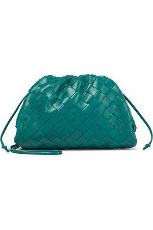 Bottega Veneta The Pouch Intrecciatio Small leather clutch