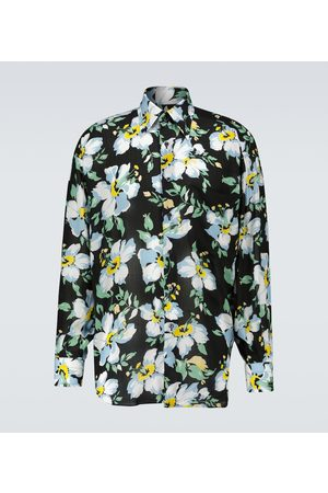 Tom Ford Oversized printed shirt