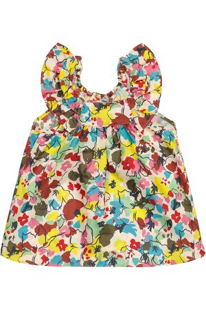 Caramel Baby Mulloway floral silk dress