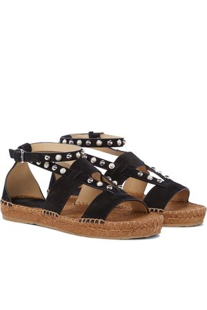 Jimmy Choo Denise suede espadrille sandals