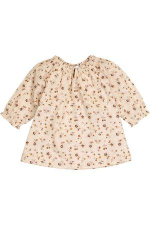 Caramel Baby Arowana floral dress