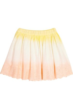 BONPOINT Suzon broderie anglaise cotton skirt