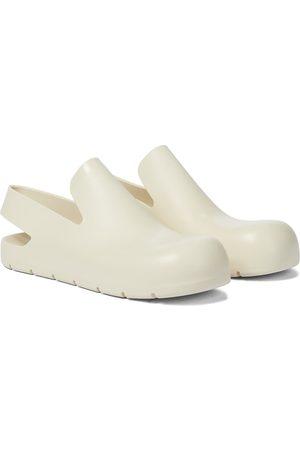 Bottega Veneta Rubber slingback slippers