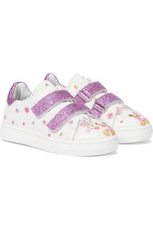 MONNALISA X Disney® floral sneakers
