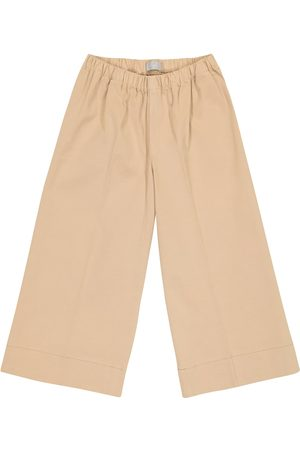 Il gufo Stretch-cotton pants