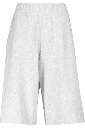 Max Mara Leisure Genero cotton jersey shorts
