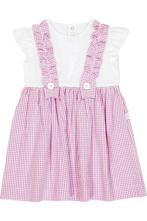 Il gufo Baby gingham dress