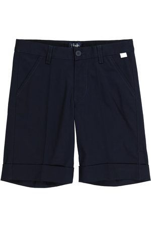 Il Gufo Stretch-cotton Bermuda shorts
