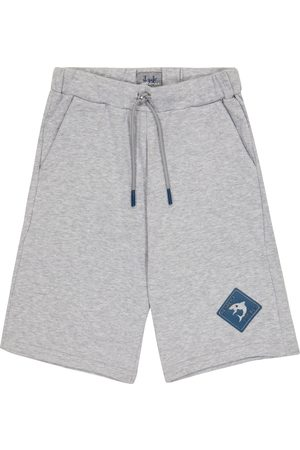 Il gufo Cotton jersey sweat shorts