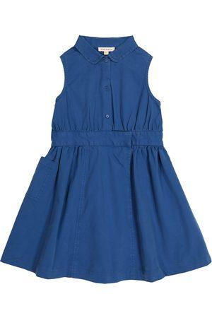Caramel Penguin cotton dress