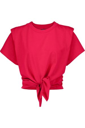 Isabel Marant Zelito knotted cotton T-shirt