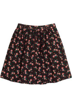 Caramel Dziewczynka Spódnice - Flounder floral cotton skirt