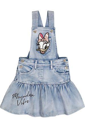 MONNALISA Dziewczynka Sukienki - X Disney® embellished denim dress