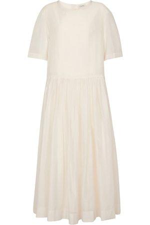 Max Mara Caldeo cotton-blend maxi dress