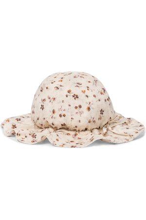Caramel Marlin floral sun hat