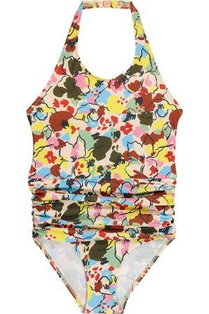 Caramel Dziewczynka Stroje kąpielowe jednoczęściowe - Gruppy stretch-jersey swimsuit