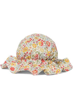 Caramel Dziewczynka Kapelusze - Marlin cotton sun hat