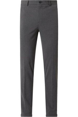 Matinique Mężczyzna Spodnie eleganckie - Spodnie do garnituru z dodatkiem streczu model 'Liam'