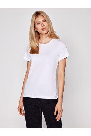Samsøe Samsøe Kobieta Z krótkim rękawem - T-Shirt Solly Solid F00012050 Regular Fit