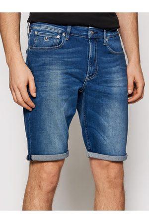 Calvin Klein Szorty jeansowe J30J317742 Regular Fit