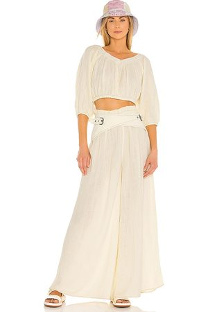 Free People Lou Lou Set in - Yellow. Size L (also in XS, S, M).