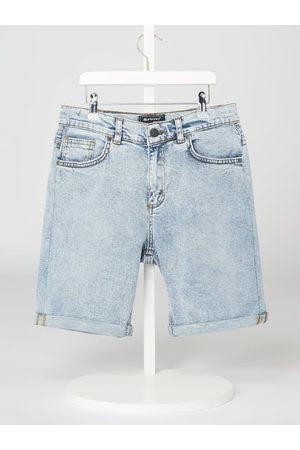 Blue Effect Bermudy jeansowe o luźnym kroju z dodatkiem streczu