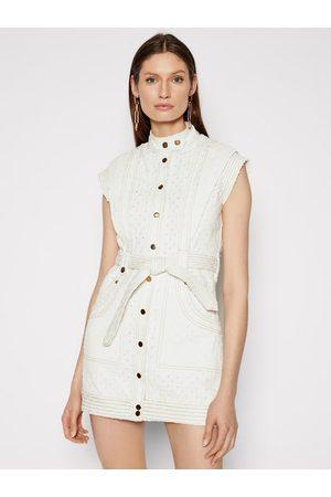 IXIAH Sukienka jeansowa IX22-25052 Regular Fit