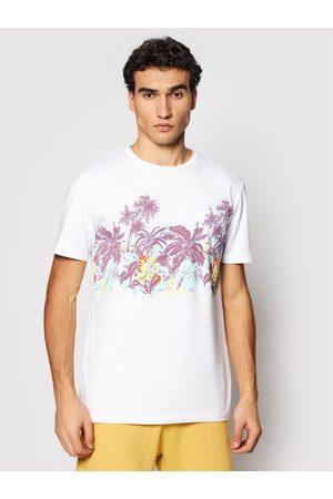 Quiksilver Mężczyzna Z krótkim rękawem - T-Shirt Mystic Sunset EQYZT06340 Regular Fit