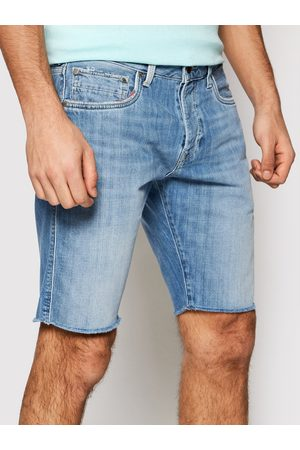 Pepe Jeans Szorty jeansowe Stanley PM800853 Regular Fit