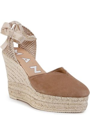 MANEBI Espadryle Heart Shape Wedges W 1.9 WH