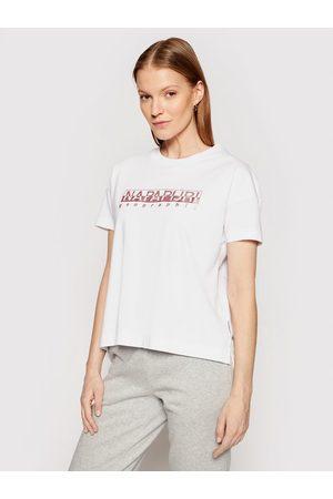 Napapijri T-Shirt Silea NP0A4FAF Regular Fit