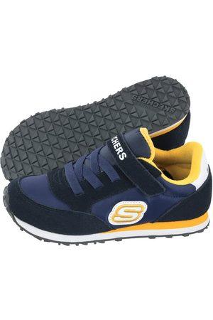 Skechers Obuwie sportowe - Buty Retro Sneaks Navy/Gold 97366N/NVGD (SK82-a)
