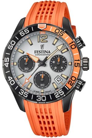 Festina Zegarek - Chrono Sport 20518/1 Orange/Black