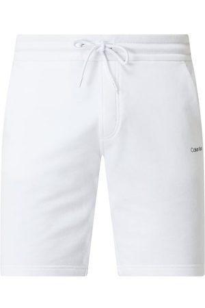 Calvin Klein Szorty z dzianiny dresowej z bawełny ekologicznej